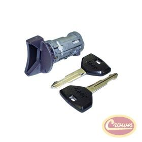 Coded Ignition Cylinder Replaces Part 4723289k Fits Jeep