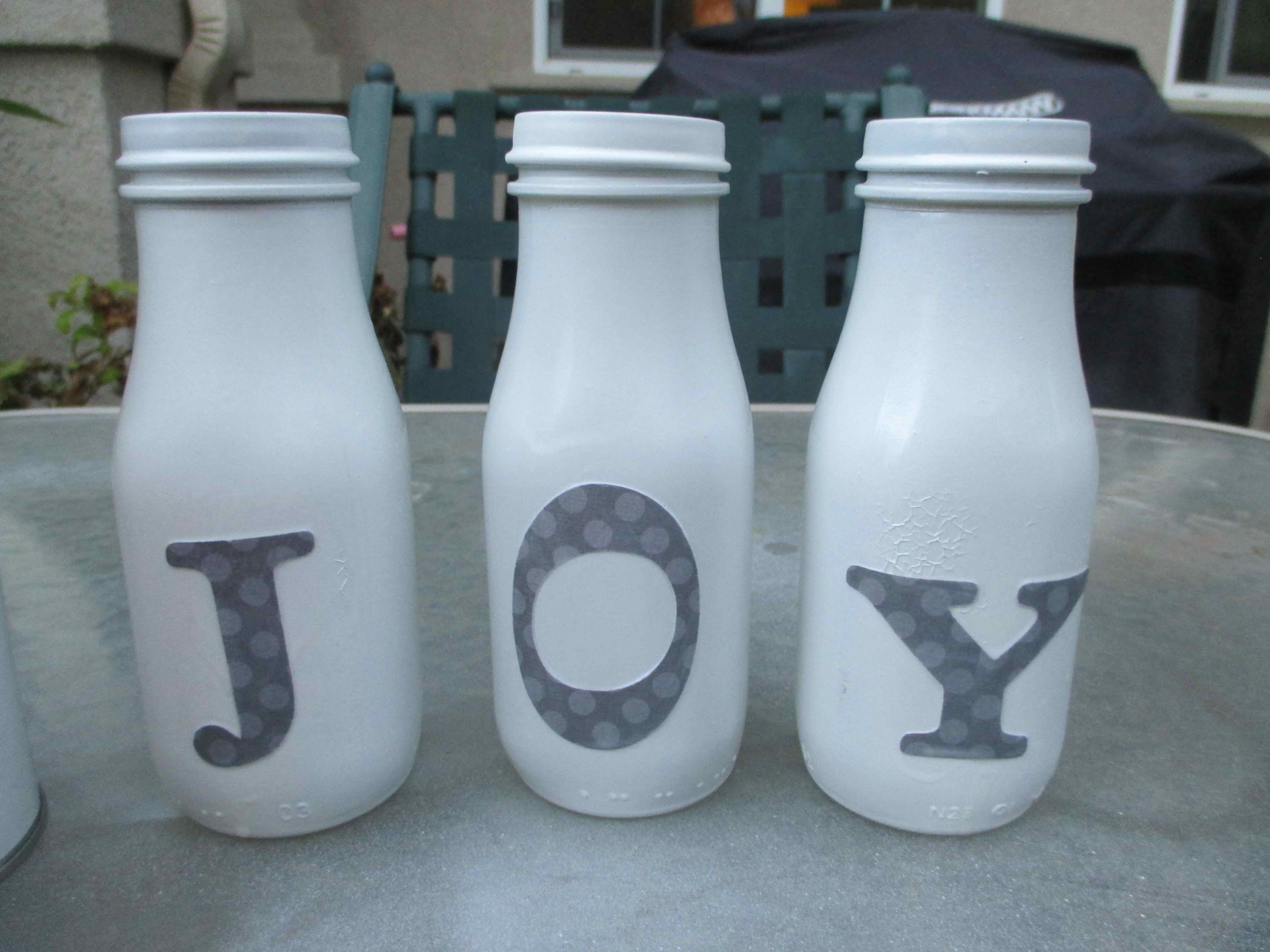 Diy how to reuse starbucks frappuccino bottles for the