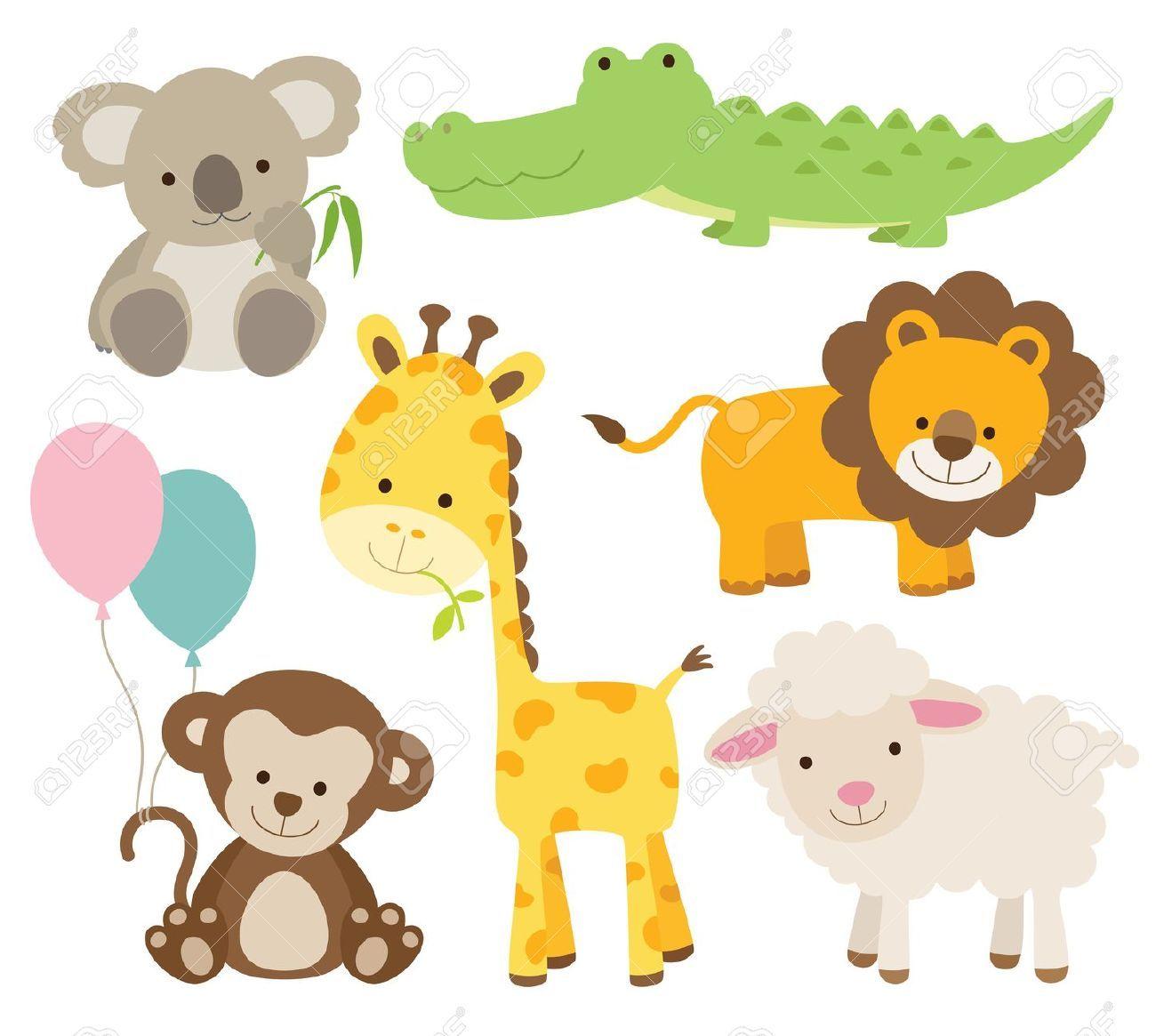 Resultado de imagen para dibujos animales de la selva - Fotos de animales infantiles ...