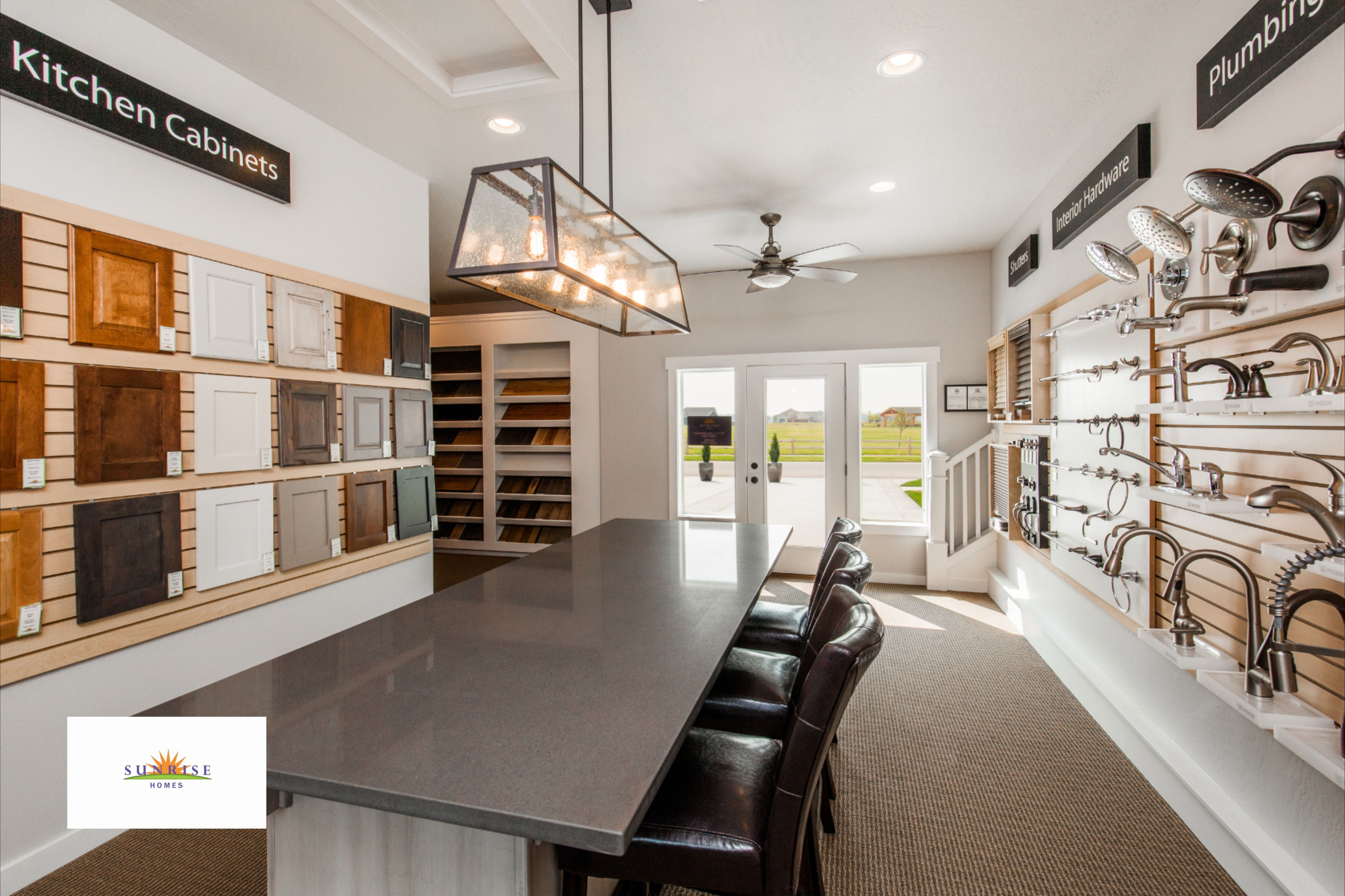 All In One Place Sunrise Homes Design Center Sunrise Home Home Buying A New Home