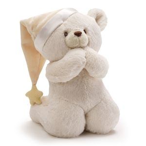 This Kneeling Bear Recites The Now I Lay Me Down To Sleep Prayer The Bear S Voice Is A Child S Voi Bear Prayer Teddy Bear Stuffed Animal Bear Stuffed Animal