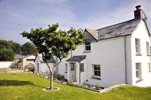 the cottage front garden from luxury cornwall holiday cottages rh pinterest co uk