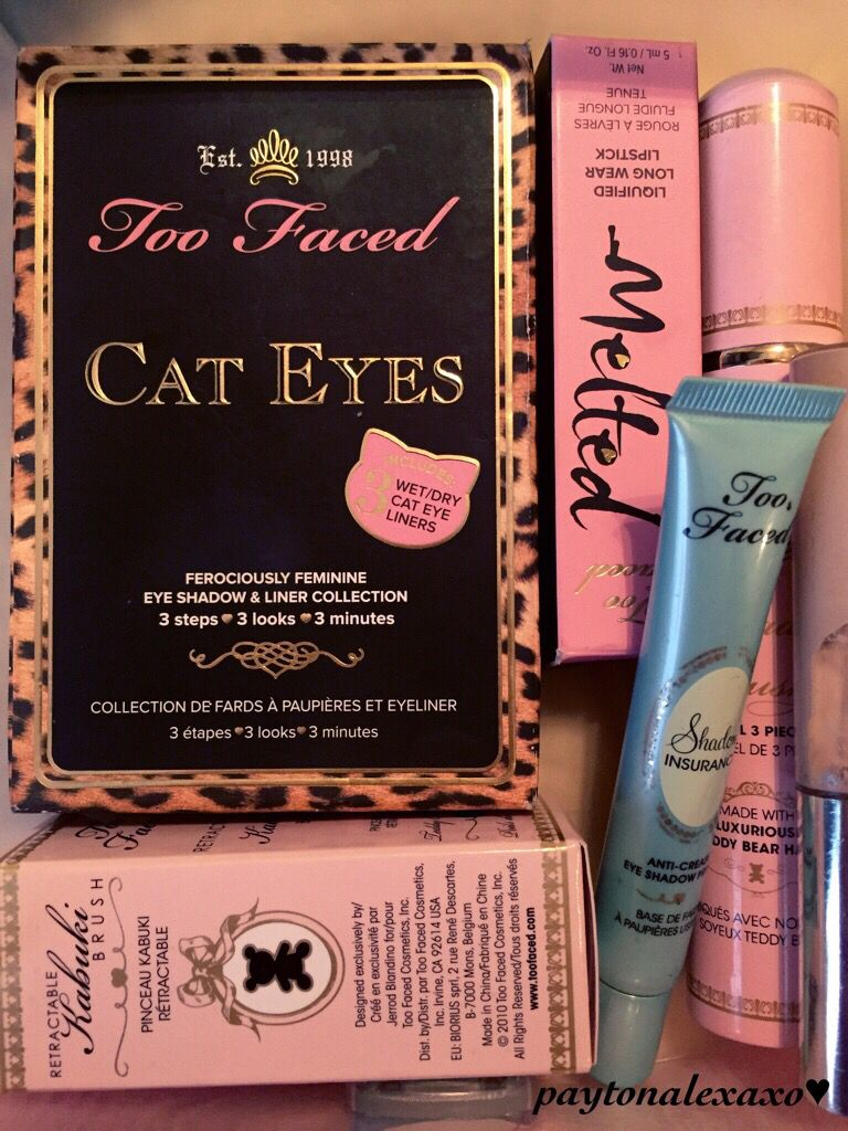 love me some too faced♥︎