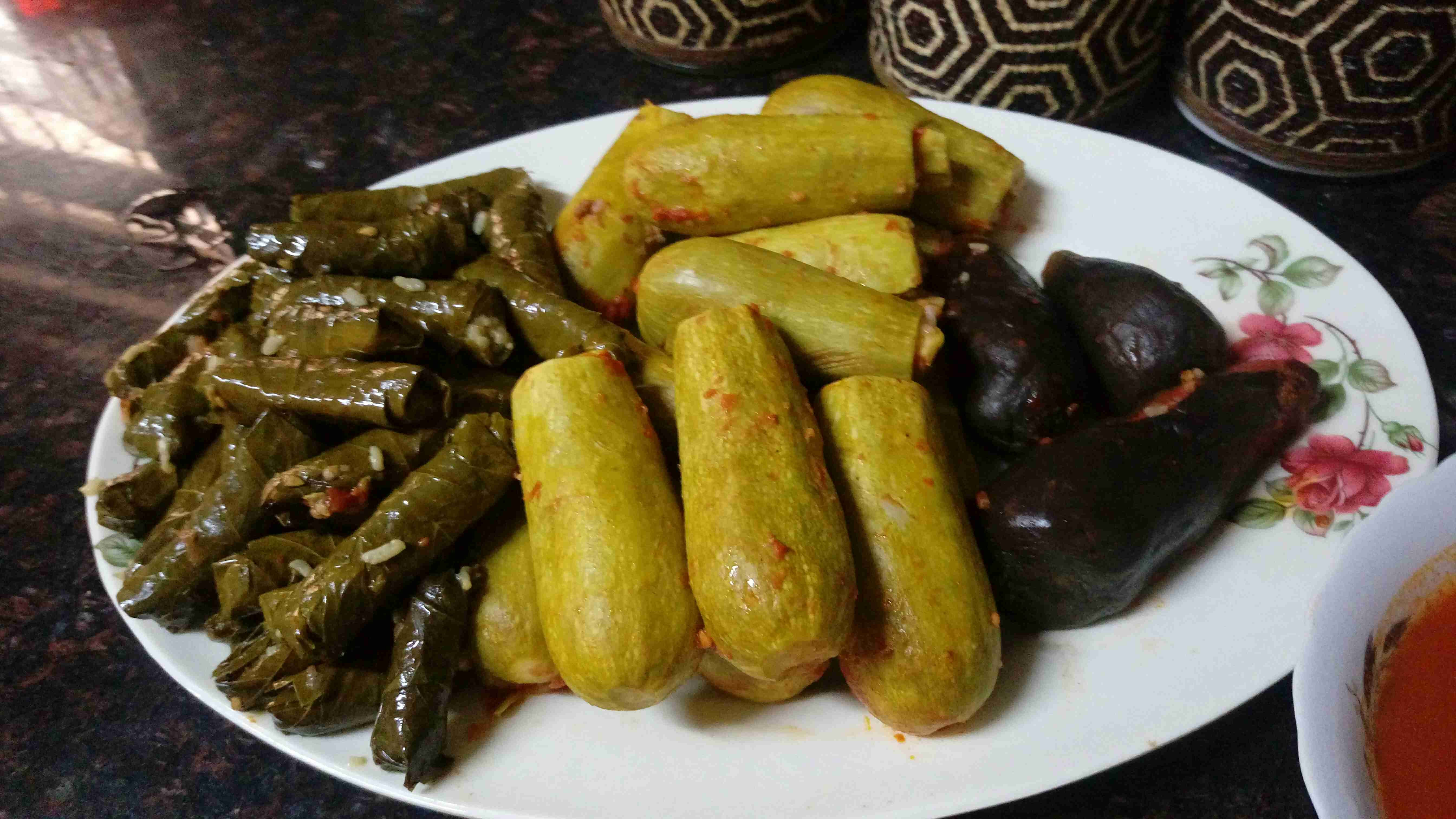 كوسا وورق عنب محشي Food Main Dishes Recipes