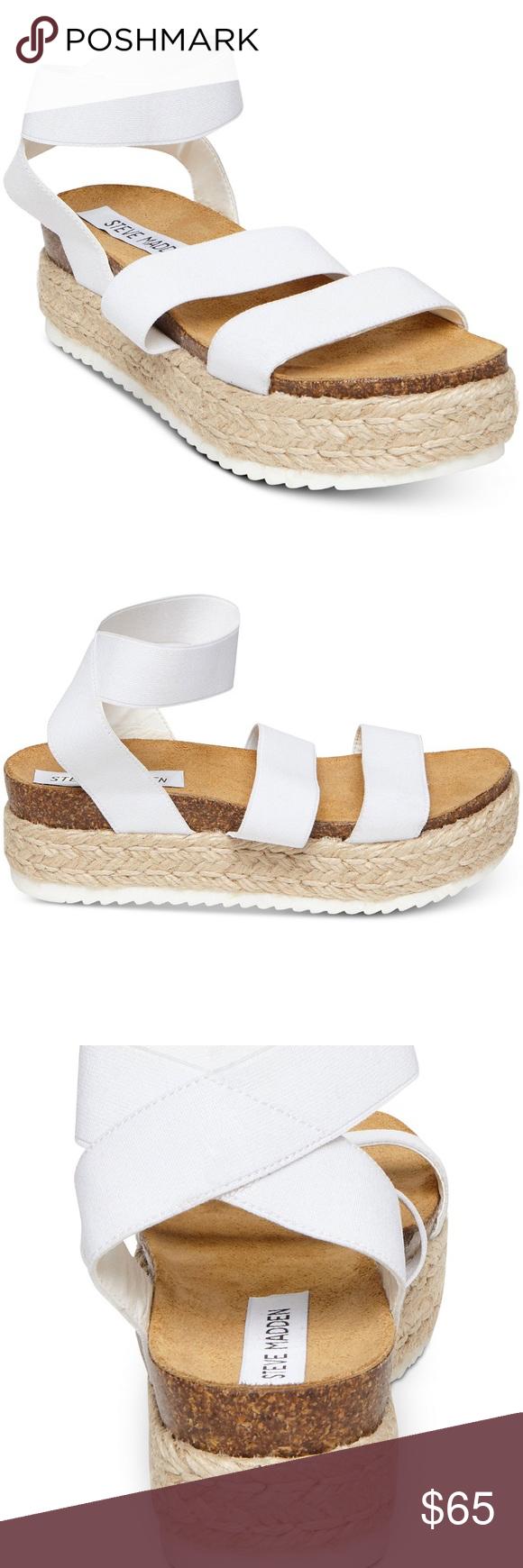 feee720b9bf Steve Madden Kimmie Flatform Espadrille Sandals *PRICE IS FIRM* 2 ...