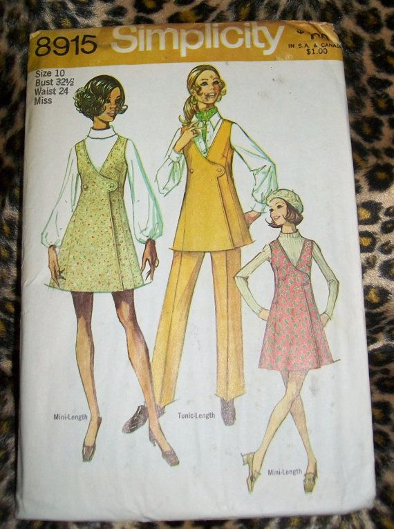 Simplicity 8915 Size 10 by RemberingOz on Etsy, $3.50