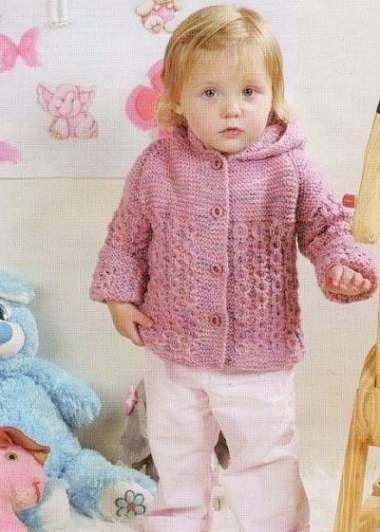 схемы вязания спицами для детей кофты деткам вязание детское