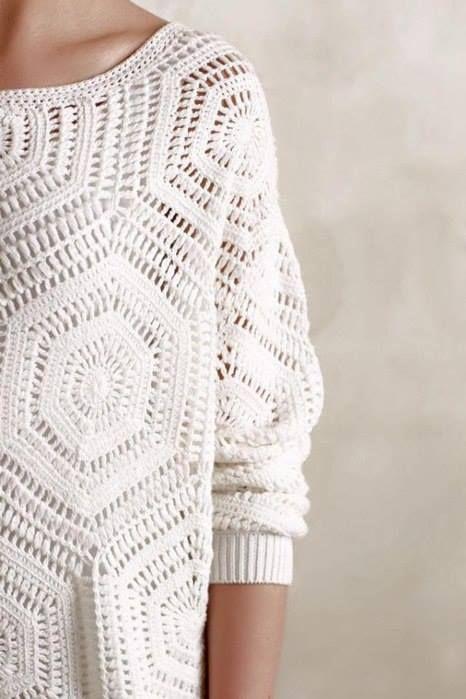 TOMADA DE LA WEB   Crochet moda   Pinterest   Las manualidades ...