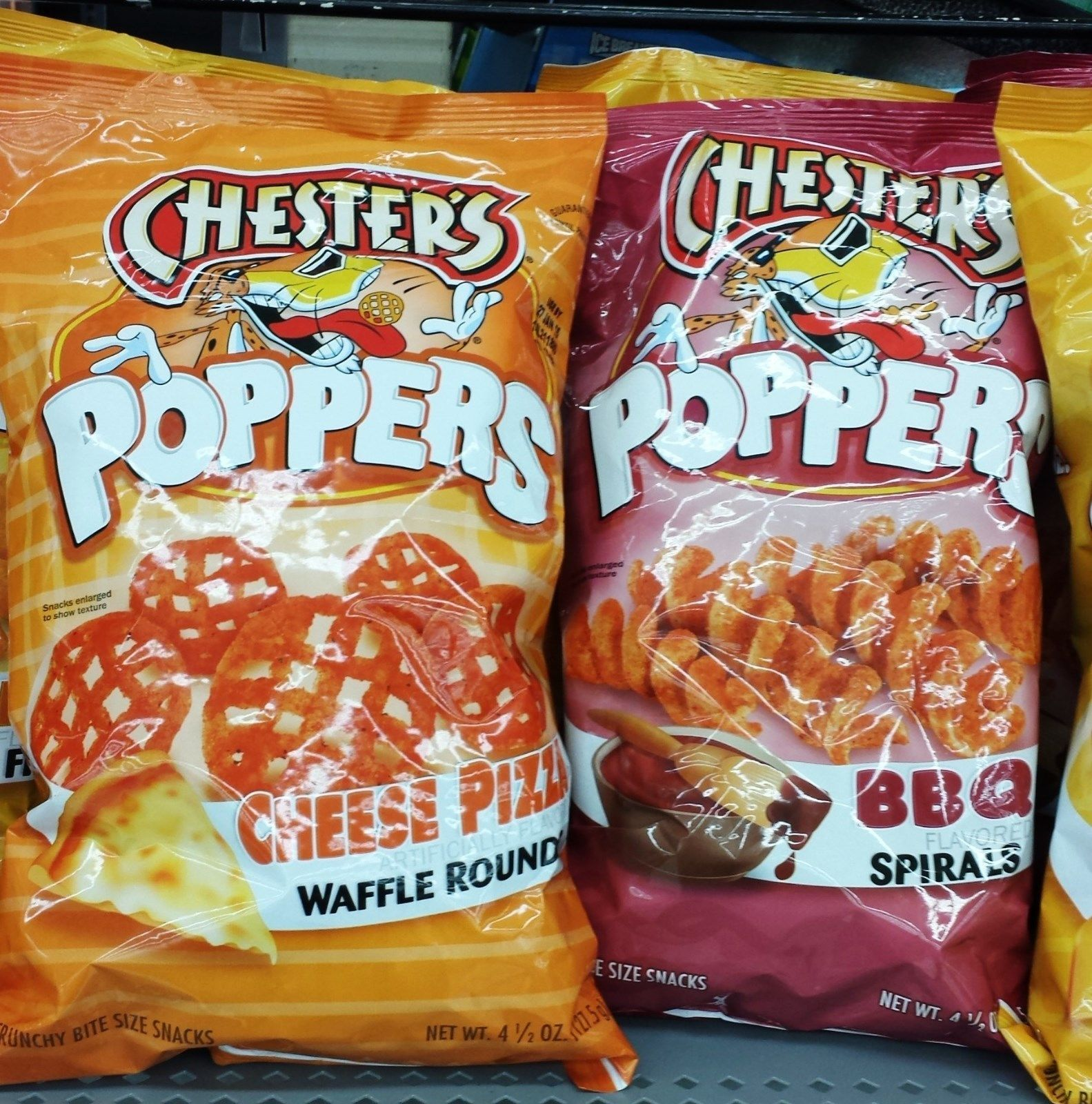 details about frito lay chester s poppers cheese crunchy bite size frito lay chester s poppers cheese crunchy bite size snacks pick one