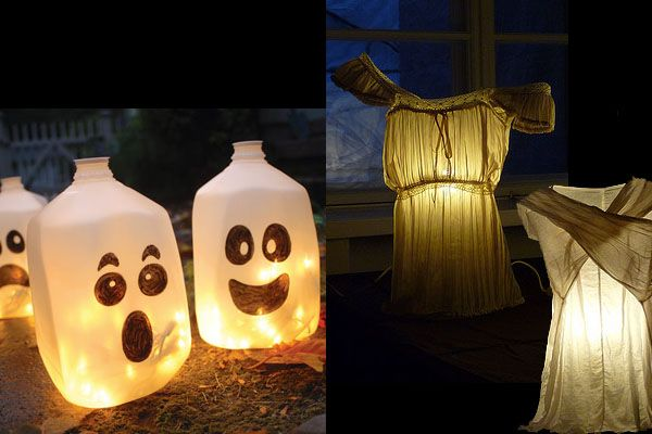 Upcycled Halloween Decorations Decoration, Holidays and Halloween - halloween milk jug decorations