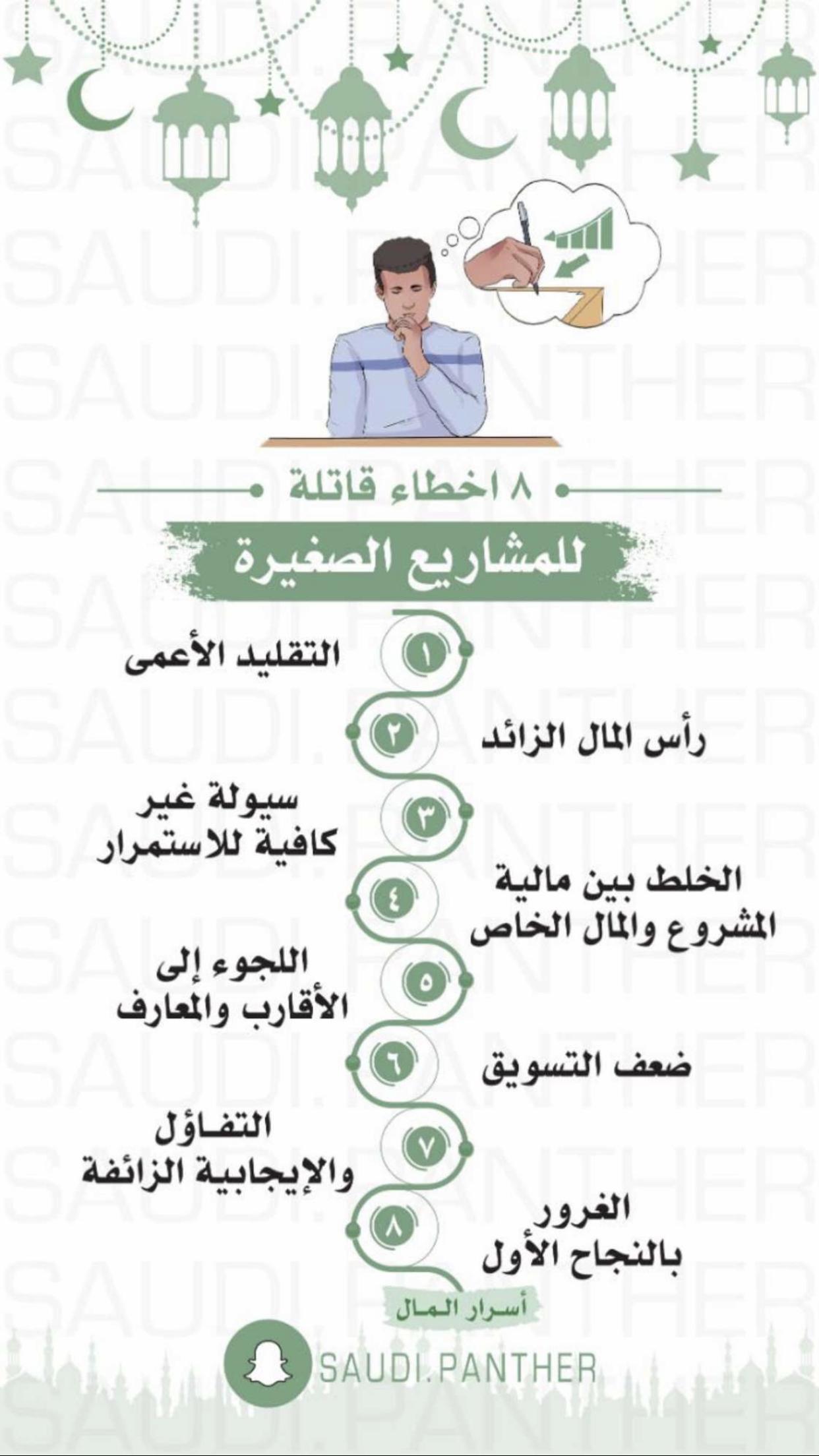٨ أخطاء قاتله للمشاريع الصغيرة Beautiful Arabic Words Words Self Development