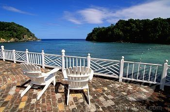 View from the pool at Dragon Bay resort in Port Antonio, Jamaica... a place that I'd like to revisit someday