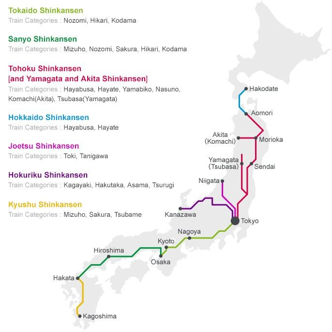 Shinkansen - How To Buy Bullet Train Tickets | MATCHA ...