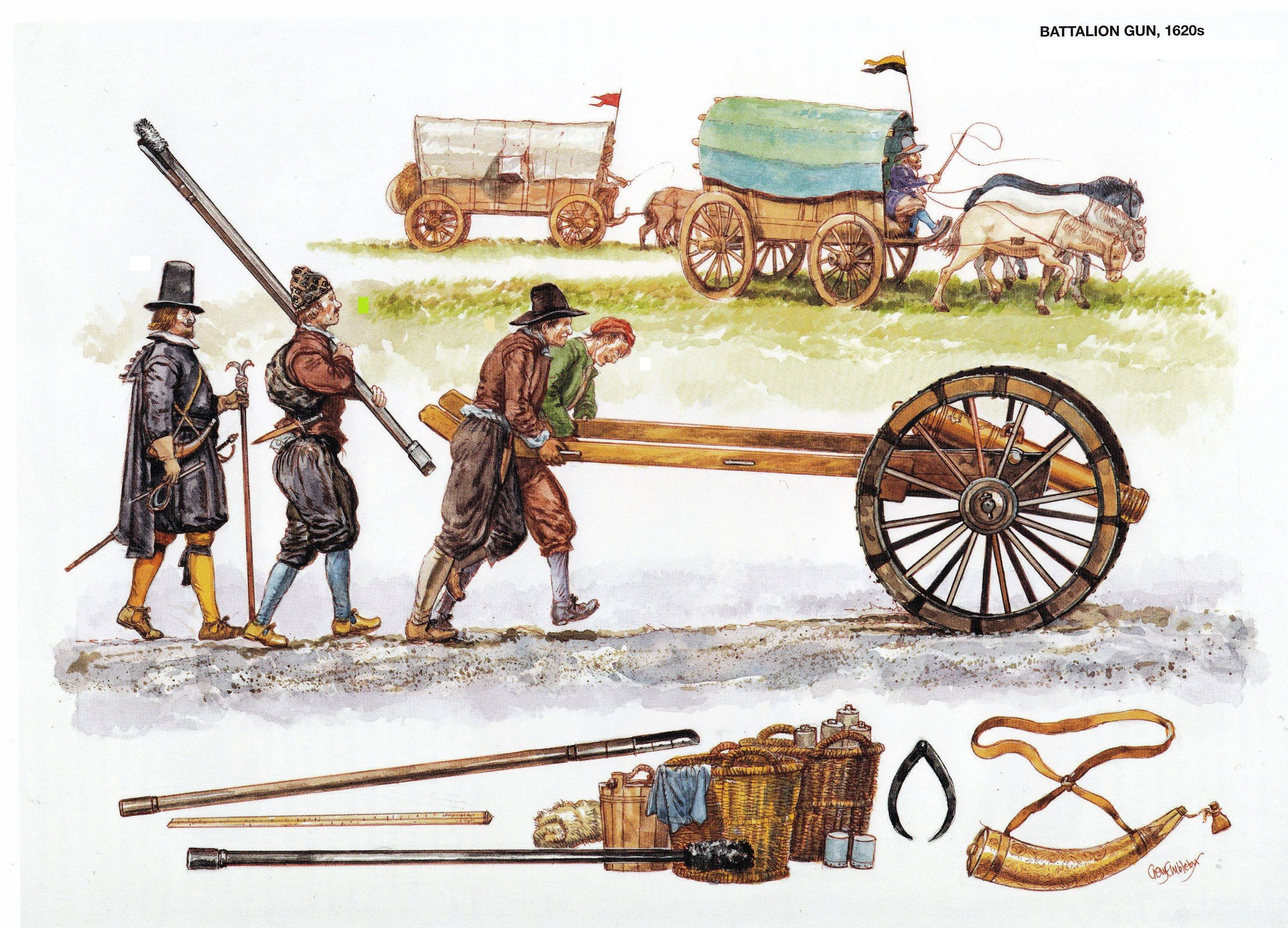 Image result for cannon used by the army of Charles I in 1648