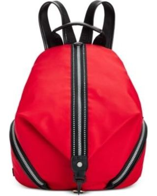 Image result for Calvin Klein Ballistic Ripstop Backpack red