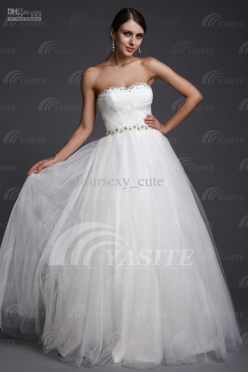 White Ball Gowns For Debutante | ... Dresses Sweetheart Ball Gown ...