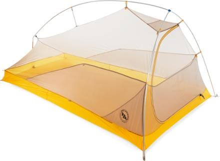 New Big Agnes backpacking tent more head room and more foot room