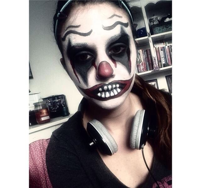 My own face painting of something I tried back in 8th grade