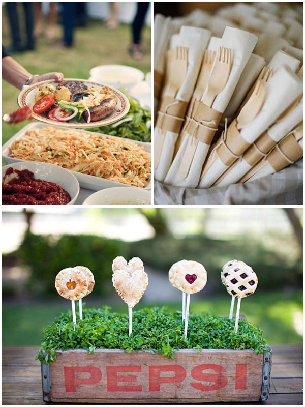 Summer Bbq Ideas For An Engagement Party Or Wedding