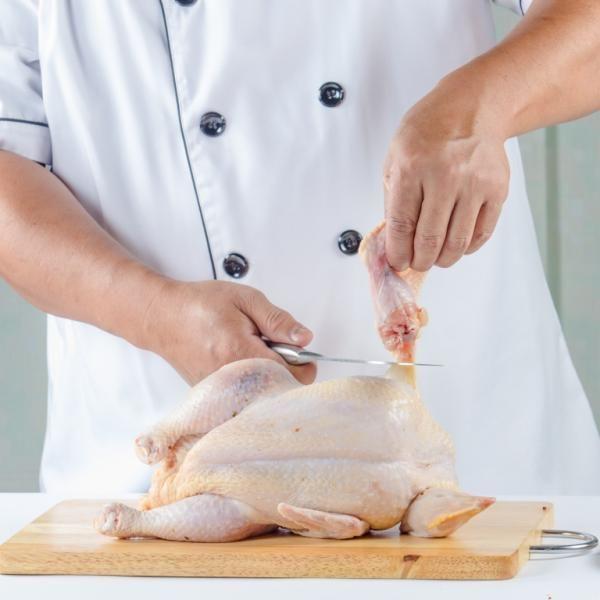 طريقة تسحيب الدجاج أساسيات الطبخ Boneless Chicken Cooking Basics Food Meat Turkey
