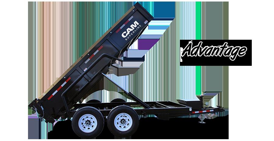 Dump Trailer Heavy Duty Low Profile Dump (Advantage