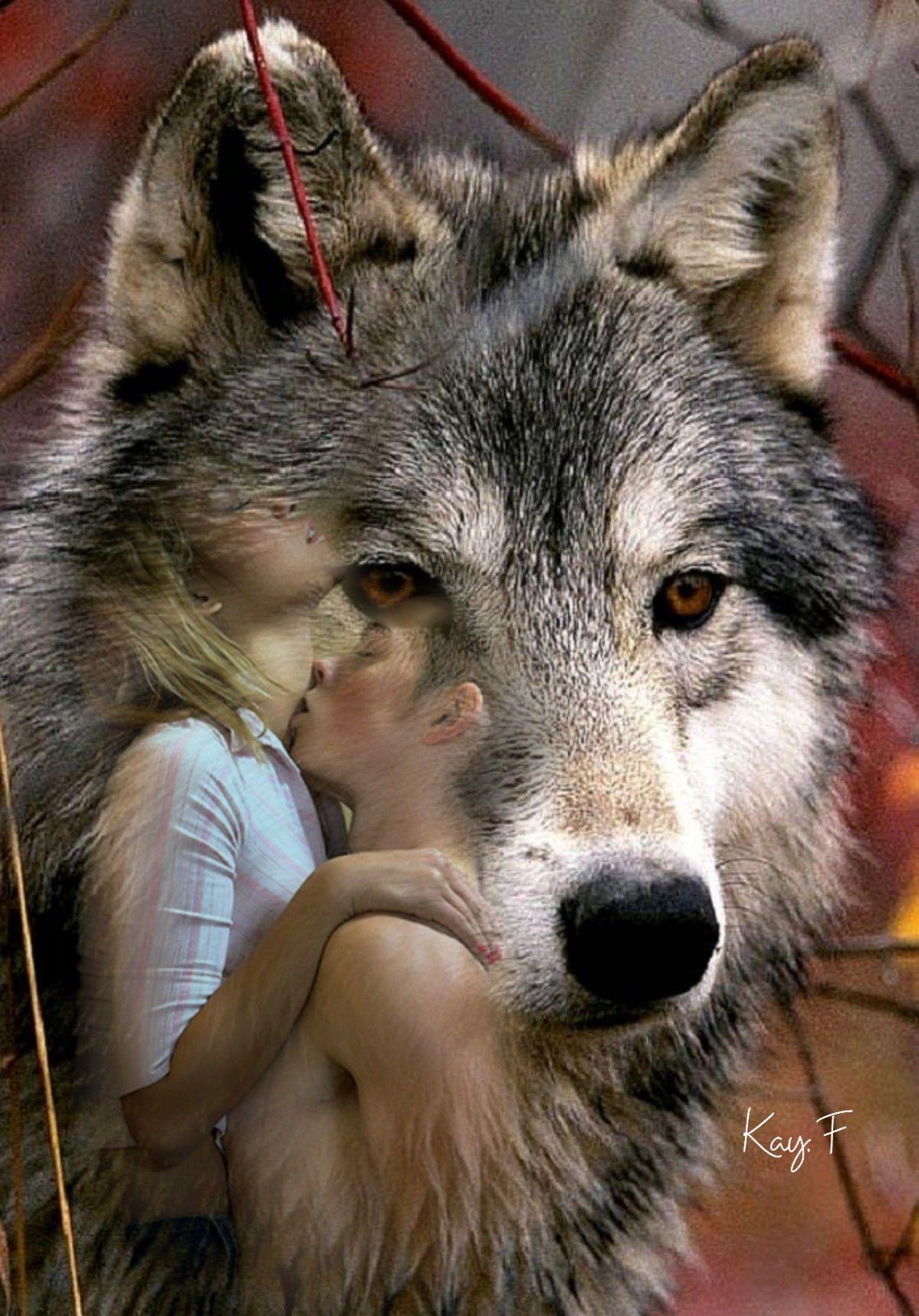 Преданный волк фото