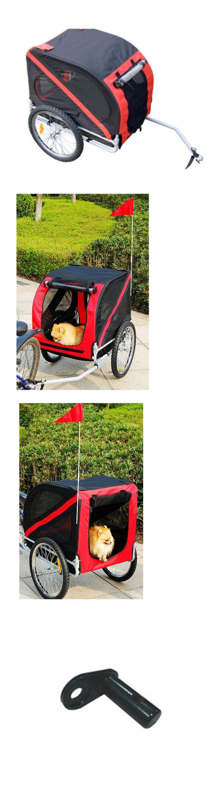 Bike baskets and trailers dog bike carrier trailer pet
