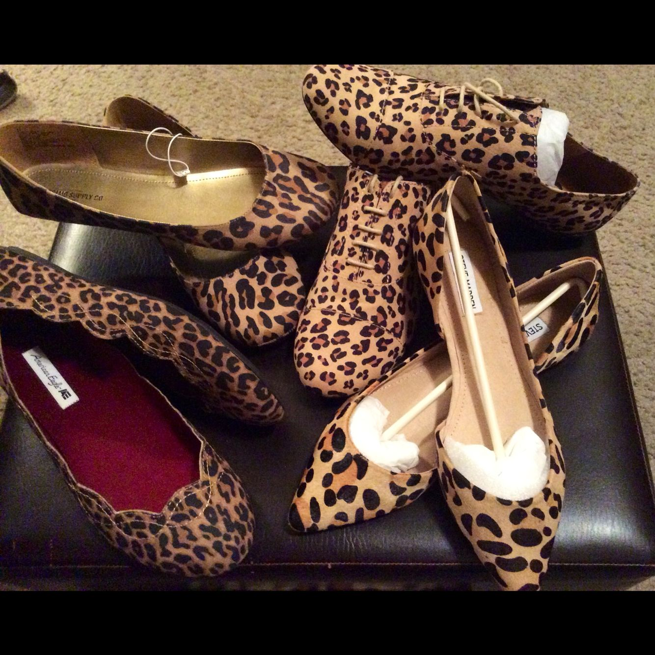 My collection of Leopard Print shoes!!!