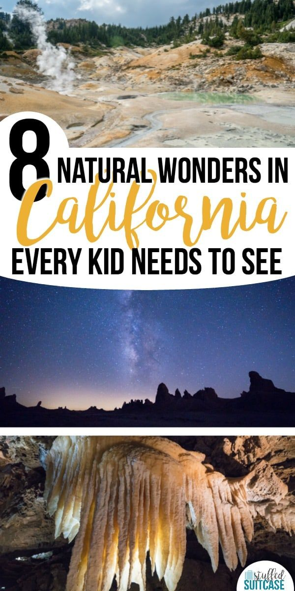 8 Amazing Natural Wonders in California Every Kid