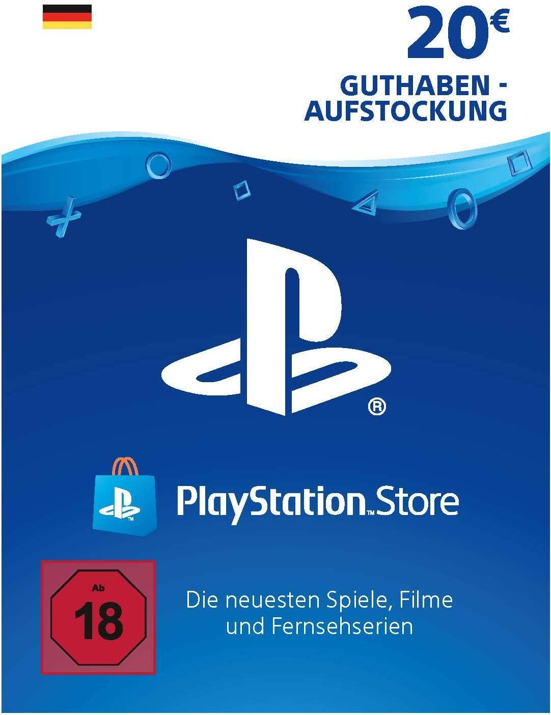 Photo of PSN Guthaben-Aufstockung | 20 EUR | deutsches Konto | PSN Download Code