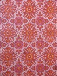 Papier Peint Vintage Fleurs Rose Rouge Papier Peint Vintage