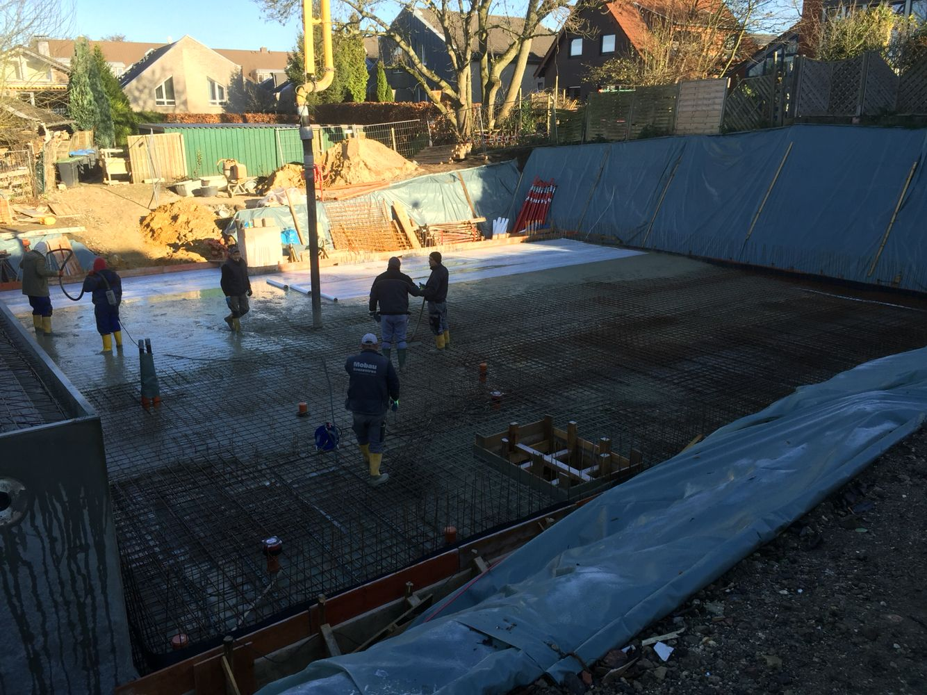 Acprojekt14 Stand 27 11 2015 Einbau Von Beton Sohle Und Decke