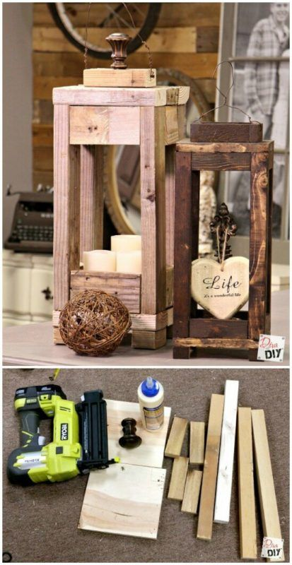 diy wood lanterns diy door decorations outdoor wooden christmas decorations christmas lanterns diy - Diy Wood Christmas Decorations