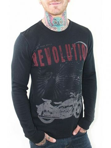 """Men's """"Live Fast"""" Thermal by 7th Revolution"""