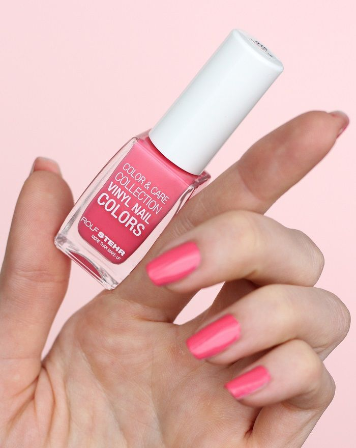 Nagellack Color & Care Collection Vinyl Nail Colors 015 Pink Star
