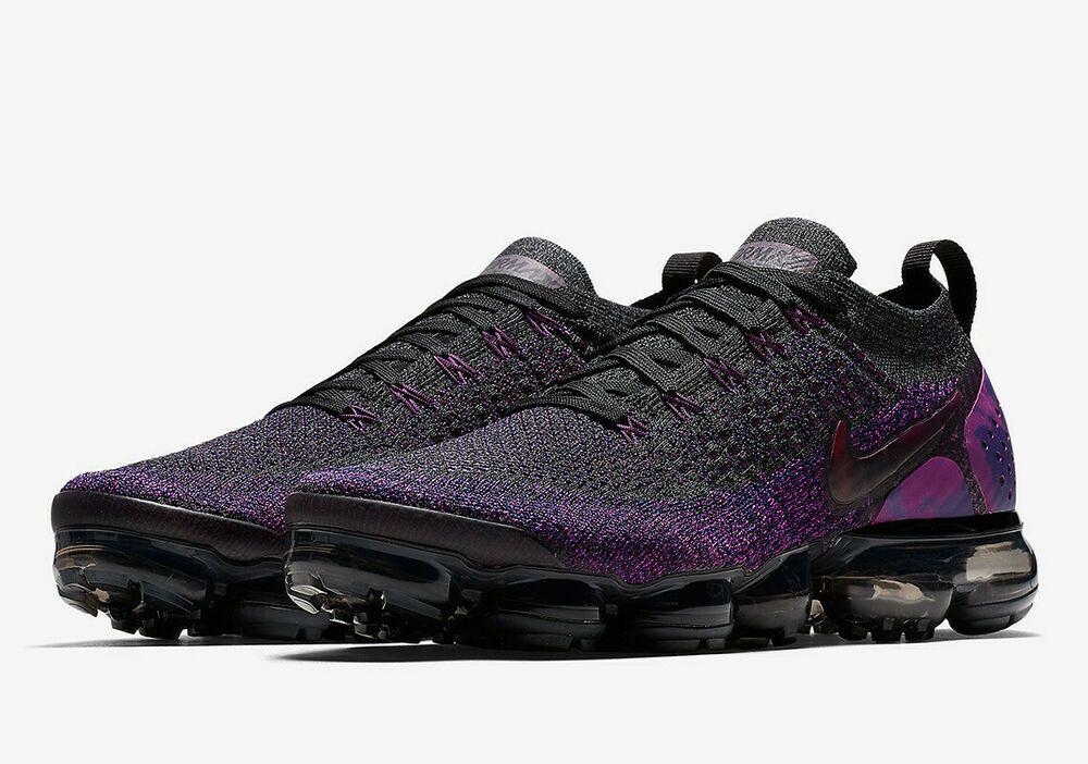 purple and black vapormax flyknit 2