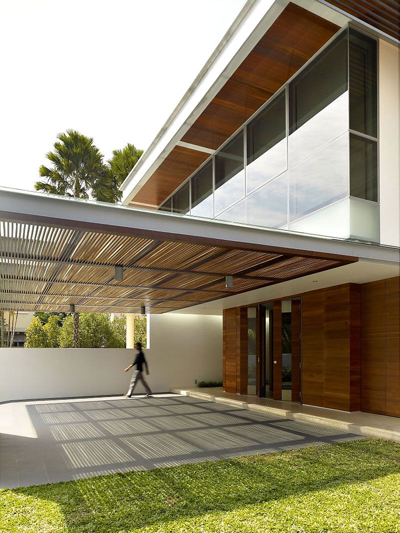 28 West Coast Grove By Ong Ong Homedsgn Porch Design Car Porch Design Architecture