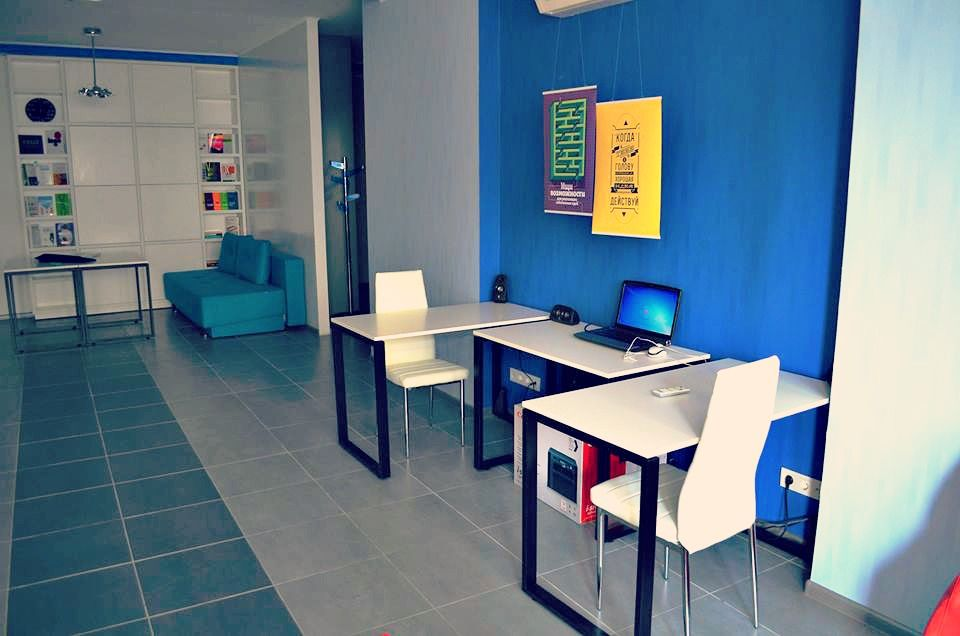 IdeaHub - a #coworking space in Kyiv, Ukraine.