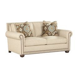 Caroline Loveseat Is Designed By Bernhardt For Havertys Part Of The Customlook Premium Collection