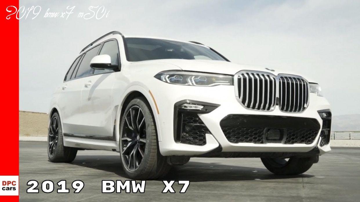 2019 Bmw X7 M50i In 2020 Bmw X7 Bmw Large Suv