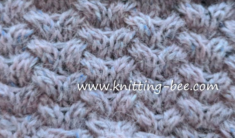 Woven Horseshoe Cable Knitting Stitch Httpknitting Bee