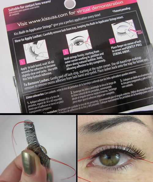 Now Kiss And Makeup: And Now, Eyelashes For People Like Me Who Wonder How Any