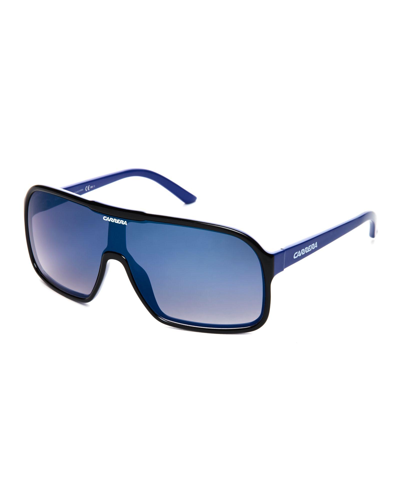 6ea4f4ac58a Carrera Black   Blue 5530 S Shield Sunglasses