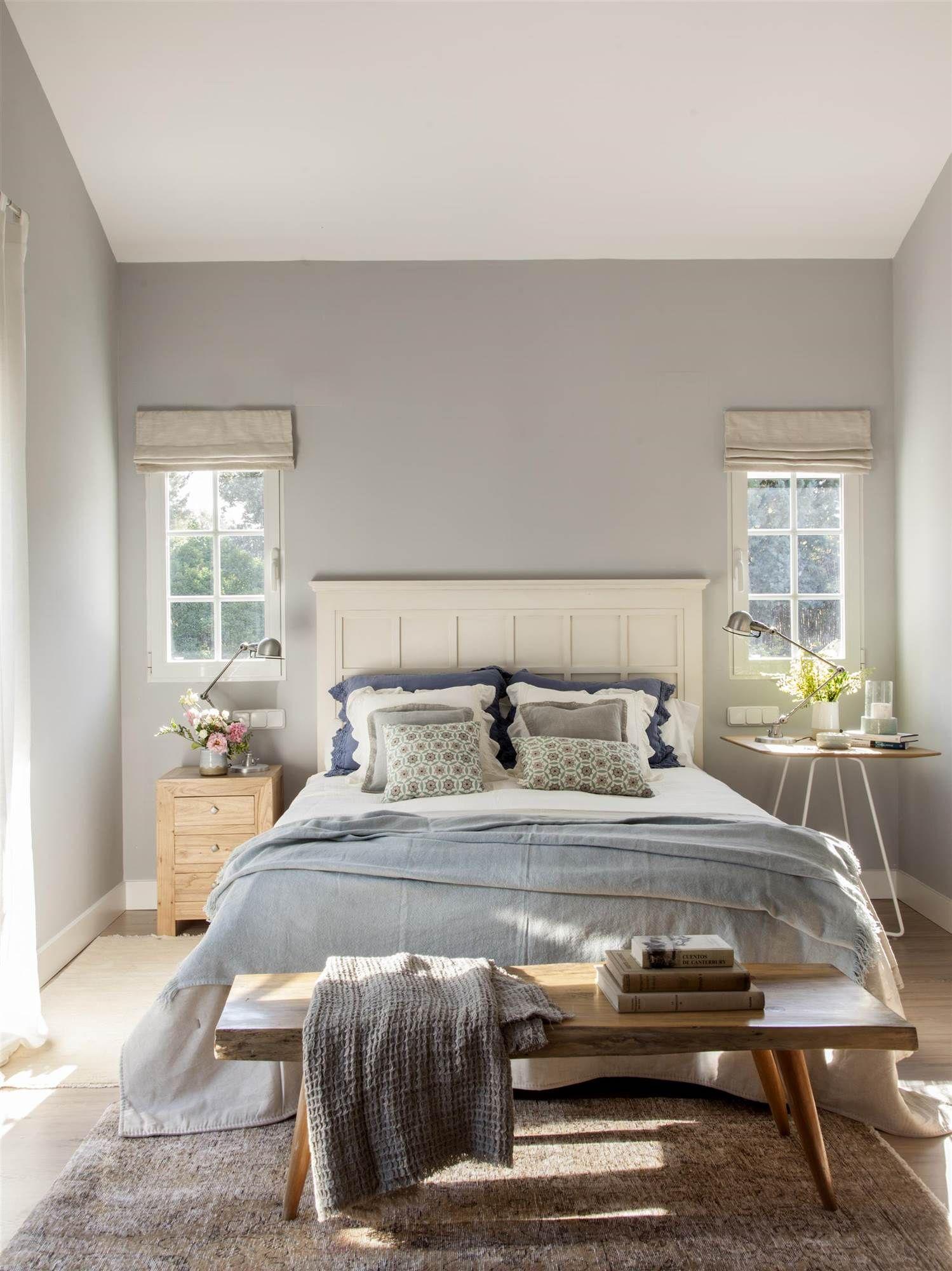 Ideas Para Sacar Partido A Habitaciones Pequeñas Ideas De Decoración De Dormitorio Decoraciones De Dormitorio Decoracion De Interiores Dormitorios Matrimoniales