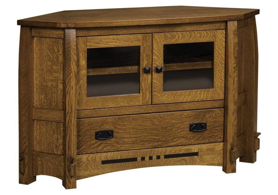 Marlette 1-Drawer Corner Cabinet   Corner tv, Tv decor ...