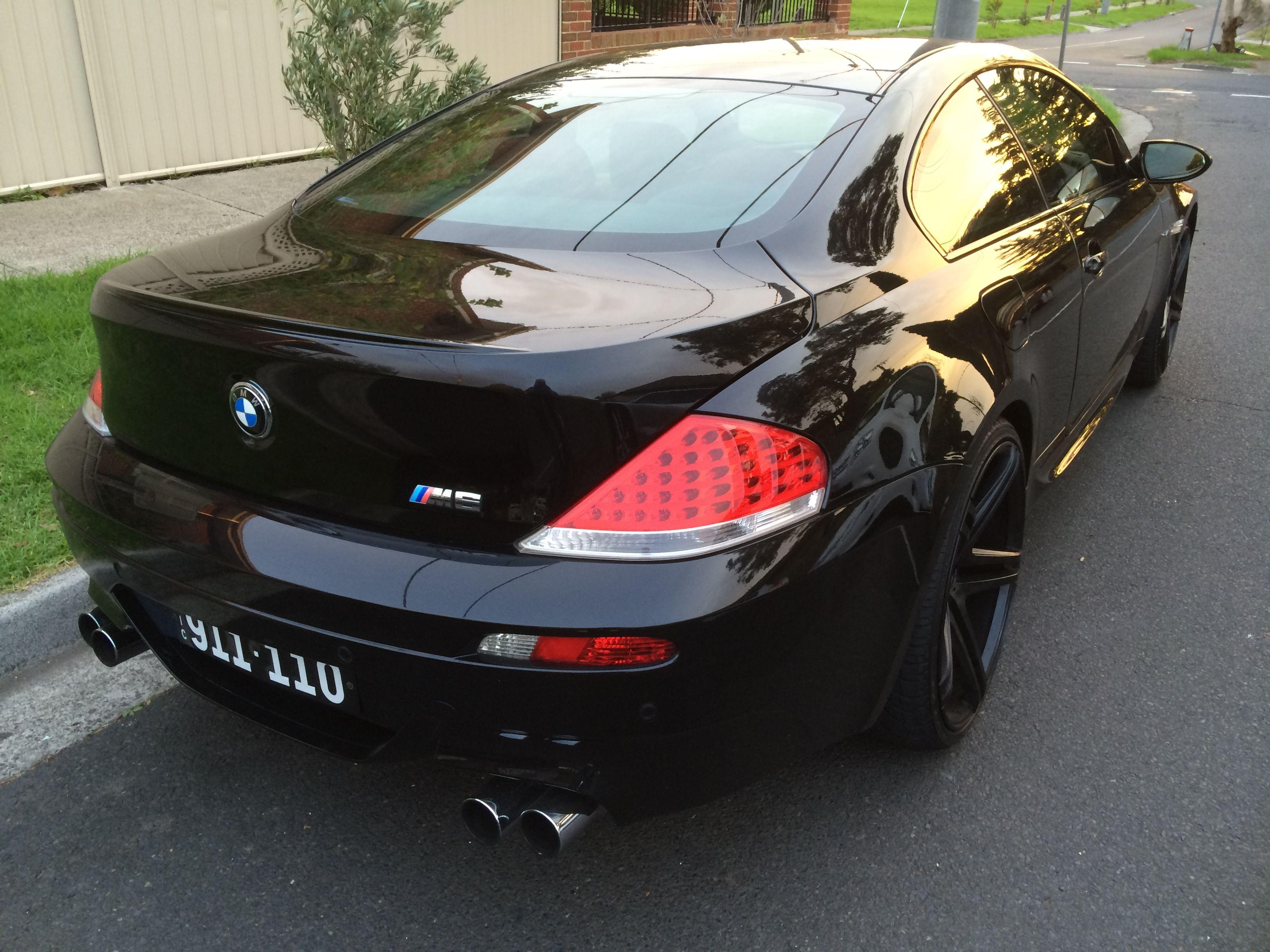 My Black Bmw M6 Whataf Machine Black Wheels 22 Inch Bmw M6