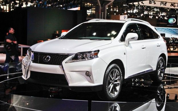 2012 New York Lexus Builds 2013 Rx 350 F Sport With Eight Speed