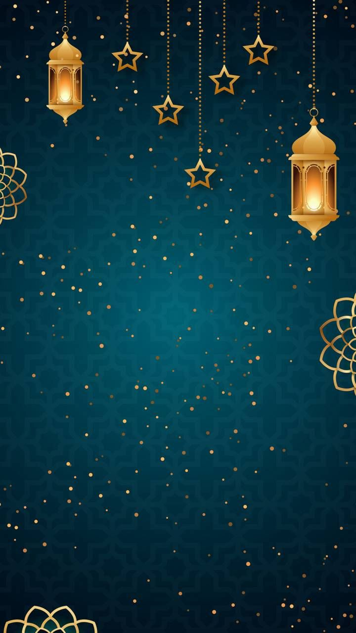 Islamic golden blue wallpaper by ISLAMIC HOLIDAYS - 1a65 - Free on ZEDGE™