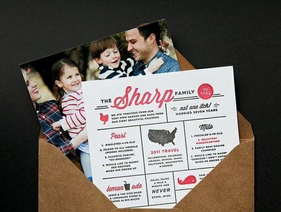 Family Newsletter  Graphic Design