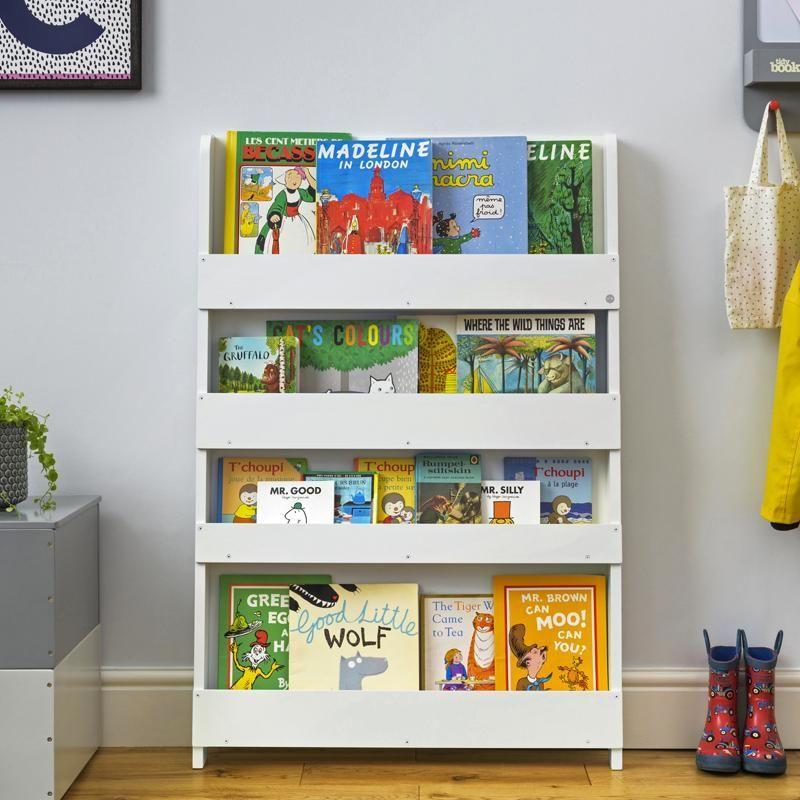Tidy Books Bucherregal Weiss Kinderbucherregal Bucherregal Kinder Regal Kinder